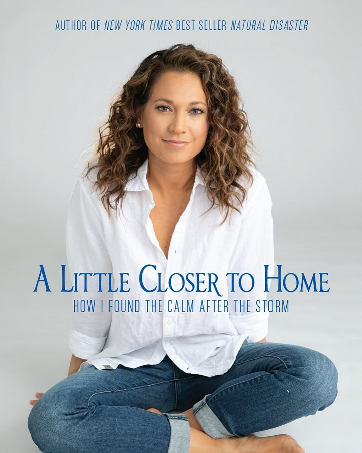 Ginger Zee on the cover of her new book, A Little Closer to Home.