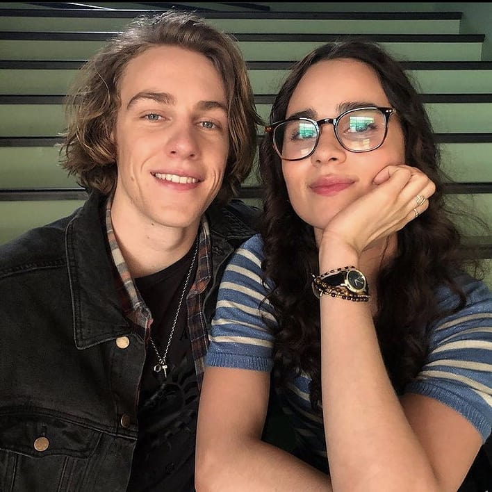 (From left) Cooper van Grootel and Marianly Tejada.